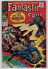 Fantastic Four 62 1st appearance of Blastaar Lee Kirby Silver 1967 sharp FN FN+