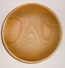 Schale aus heimischem Kirschbaumholz, Holzschale, Schüssel, Obstschale