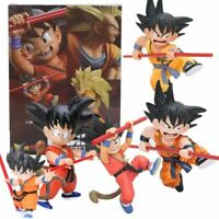 Dragon Ball Z Son Goku Action Figures Childhood Ver Collectible Model Toys Box