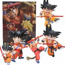 Dragon Ball Z Son Goku Action Figures Childhood Ver Collectible Model Toys Box