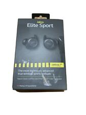 Jabra Elite Sport Bluetooth Wireless In-Ear Stereo Earbuds - Black