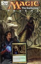 Magic the Gathering Theros #2 Gaze of Granite Comic & Promo Card IDW MTG