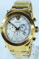 Versace Uhr Uhren Herrenuhr Chronograph SPORTY Swiss Made Chrono NEU