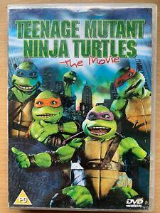 Teenage Mutant Ninja Turtles DVD TMNT 1990 Movie Feature Film Classic