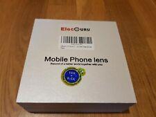 ElecGuru Mobile Phone Lens kit 18x lens plus 0.6x Wide Angle lens
