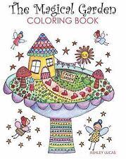 The Magical Garden Coloring Book Paperback Or Softback