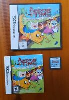 Adventure Time for Nintendo DS Game Complete With Manual