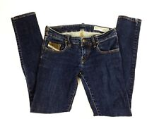 "Diesel ""Grupee"" Women's size 27 Super Slim-Skinny Low Rise Jeans Dark Wash J"