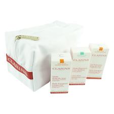 Clarins - Überraschungs Set - Gesicht Haut Pflege Reinigung - 3-teilig + Tasche