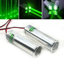 2pcs 532nm 50mW Green Thick Beam Dot Laser Diode Module 3.6-5V Bar KTV Stage LED
