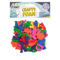 Crafty Foam Letters - Assorted Colours - Kids Craft Card Making - UK Stockist