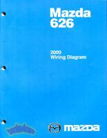 2001 Mazda Mpv Electrical Wiring Diagrams Service Manual Ebay