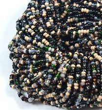 "Czech Glass Seed Beads Mixture Size 10/0 "" BOWTIE  "" 1 Hank"