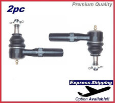 Premium Tie Rod End SET Outer For GMC Sierra Chevy Silverado 2500 Kit ES800901