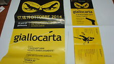 DIABOLIK set cpl GIALLOCARTA Locandina + programma + volantino inAsta dylan tex