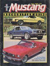FORD MUSTANG MK1 6-CYL & V8 HARDTOP FASTBACK & CABRIO 1965-73 MODEL HISTORY BOOK