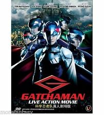 2013 Science Ninja Team Gatchaman Live Action Movie ~ DVD BOXSET ~ English Sub