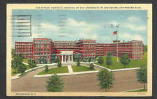 Dated 1941 Ppc Rochester Ny Strong Memorial Hospital-University Of Rochester