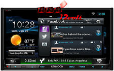 "Kenwood DNN992 6.95"" GPS Bluetooth HD Radio+ FREE LED LISENCE CAMERA +GUIDE LINE"