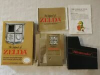 The Legend Of Zelda CIB With Map Manual Box and Coverslip Complete