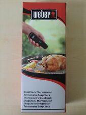Weber Premium SnapCheck Thermometer klappbar Grill BBQ Fleischthermometer 6752