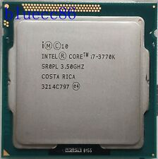 Intel Core i7-3770K 3.5GHz LGA1155 SR0PL 4Core 8M Cach 5 GT/s DMI CPU Processor