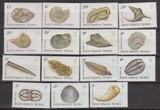 British Antartic Territory Def. set Fossil Minerals fossili minerali 176/90 MNH