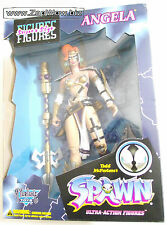 ANGELA 1996 Spawn Hunter 13''  SuperSize Action Figure McFarlane Gaiman Mint