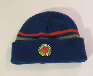 Kids Blue Beanie Cuffed Cap Winter Hat Boys - Fast Shipping Size 4-7