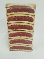 "Vintage Fig Newtons Collector's Tin 1994 Nabisco 16 oz Empty 8"" X 4.5"" 90s"