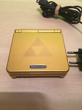 Consola game boy advance SP. nueva REFURBISHED GOLD ZELDA