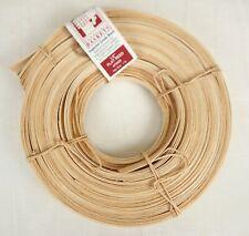 """Jadvick 1/2"""" Flat Reed for Basketry Basket Making 1 lb Coil Natural #73029"""