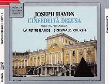 HAYDN: L'INFEDELTA DELUSA - LA PETITE BANDE / 2 CD-SET - TOP-ZUSTAND