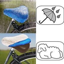 Wenko Fahrradsattelüberzug Fahrrad Sattel Überzug Sattelbezug Regenschutz