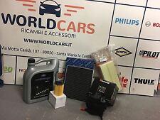 KIT 4 FILTRI TAGLIANDO AUTO FILTRI 5LT FORD FIESTA DAL 2008 1.4 TDCI  50KW  68CV