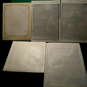 FRANK FRAZETTA T-SHIRT TRANSFERS ON PAPER, IRON ONTO FABRIC, FIVE DIFFERENT,NM-M