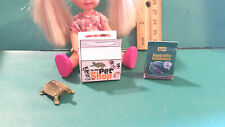 Barbie 1:6 Furniture Pet Turtle for Tommy or Kelly Food and Box