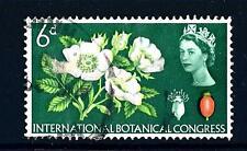 GREAT BRITAIN - GRAN BRETAGNA - 1964 - Regina Elisabetta II. Congresso int.botan