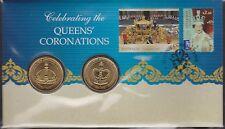 Australia Stamps PNC 2013 Queen's Coronations QEII Royalty Queen Elizabeth 2nd