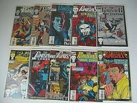 Lot 10 The Punisher Comics Armory War Zone Journal Suicide Run 2099 Marvel
