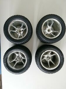 Proline Road Rage Tires and Wheels for RC Truck. Losi/Traxxas/Tamiya/Kyosho
