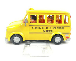 Vtg 2002 Playmates The Simpsons Springfield Elementary School Bus SEE DETAILS
