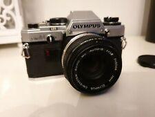 Olympus OM-10 35mm Film Camera OM-System Zuiko 50mm 1:1,8 Lens