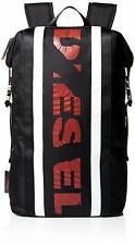 Diesel F-Sport SportyDiesel Black/Tango Red/White Backpack