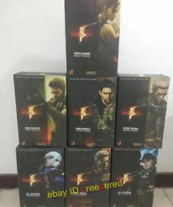 Hot Toys Resident Evil 5 SHEVA CHRIS JILL battlesuit S.T.A.R.S. WESKER  midnight