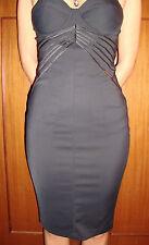 Elisabetta Franchi Celyn b nuovo abito tubino nero sexy black dress tg. 40