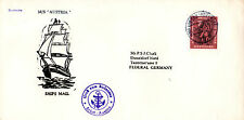 GERMAN 8 SHIPS MAIL COVERS FROM THE 60's ALL SCANNED & MOSTLY IDENTIFIED