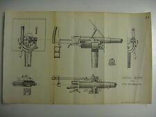 ORIGINAL DESIGNS OF HOTCHKISS GUNS FOR USN SPANISH AMERICAN WAR SHIPS