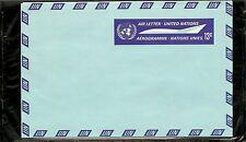 United Nations / New York UC7 Un Emblem, Stylized Plane. Postally Unused