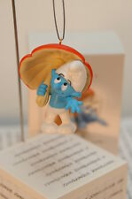 SMURFY DAYS HALLMARK ORNAMENT 2012 THE SMURFS NEW IN BOX~SHIPS NOW~FREE TO US~